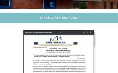 Circular 07 Rectoria