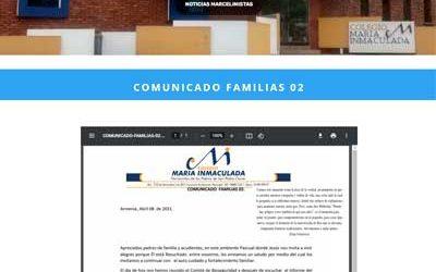 COMUNICADO FAMILIAS 02